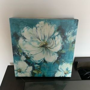 Other - Wall Art Blue Floral